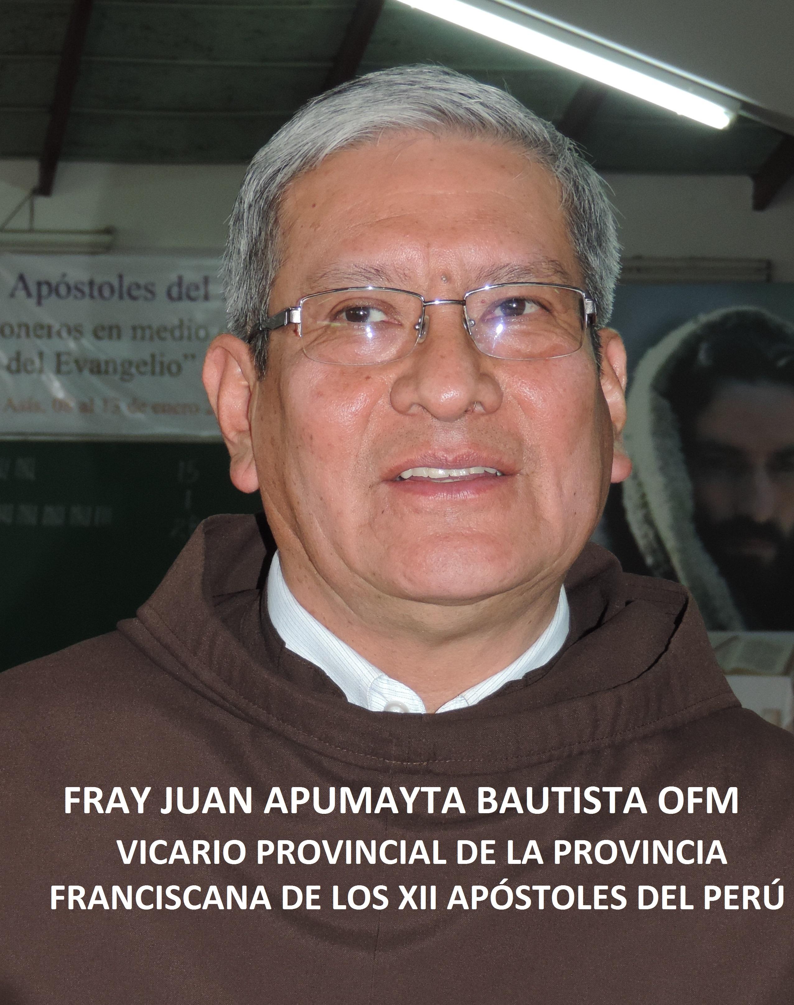 VICARIO DE LA PROVINCIA